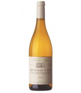 Santenay blanc 1er cru Clos des Gravières 2015 - Domaine Bachey-Legros