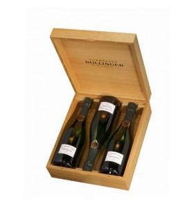 Bollinger La Grande Année 2005 coffret bois 3 bouteilles